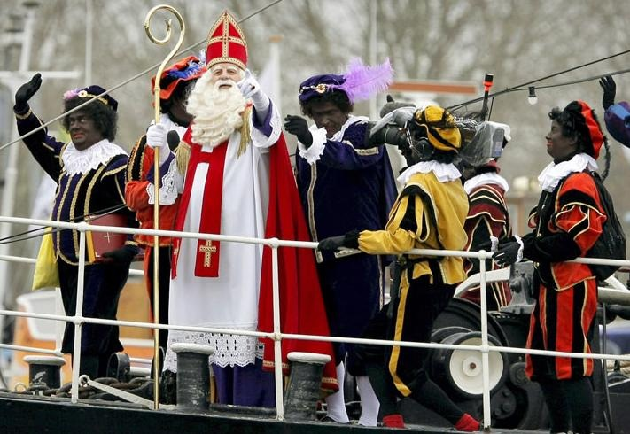 Black Pete Christmas History.Black Faced European Folk Characters Seen Annually At