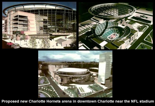 Charlotte Hornets Proposed Arena Downtown 03