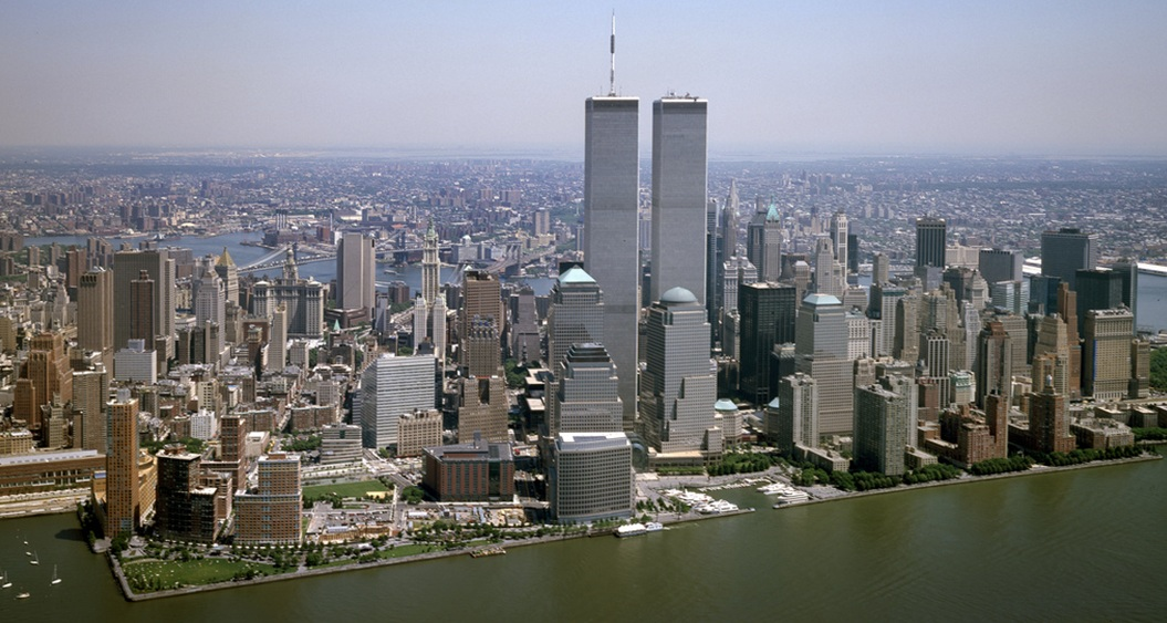 World Trade Centre View From Long Island