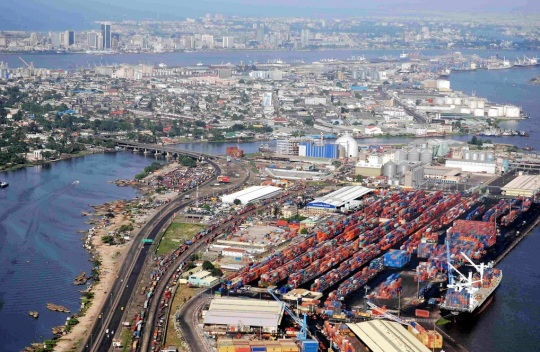 Lagos Nigeria -Port