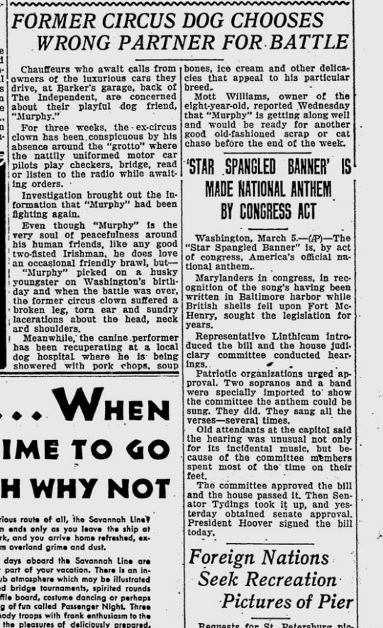 The Evening Independent March 5 1931