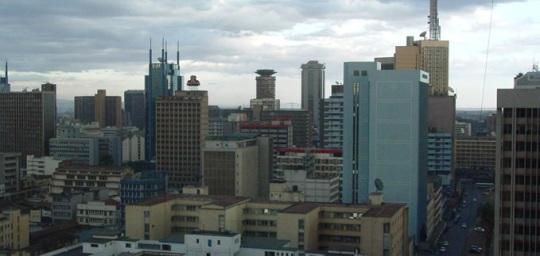Nairobi downtown