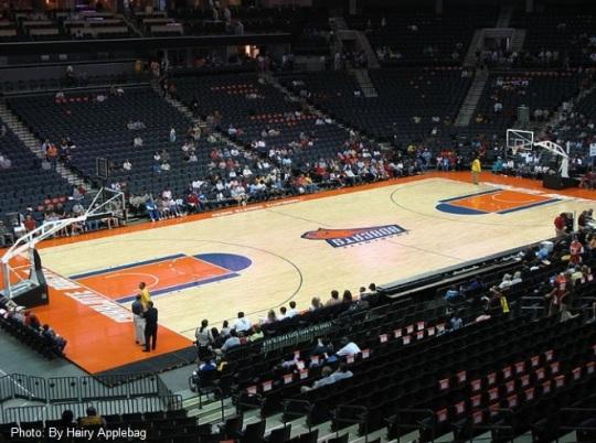 Charlotte Bobcats Court