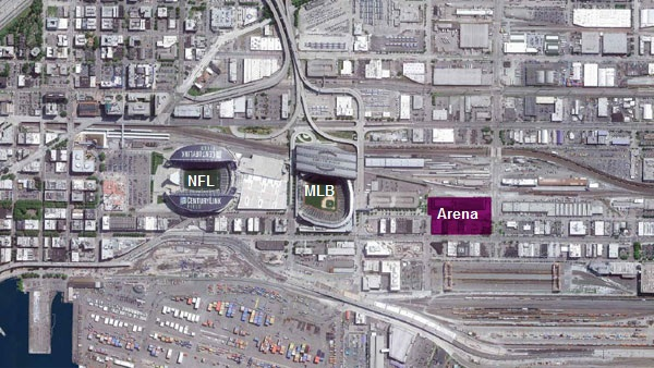 Seattle Arena Drawings Sodo Arena Conceptual Design