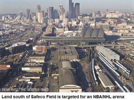 Seattle Arena Site