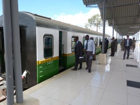 Nairobi- Syokimau Commuter Rail
