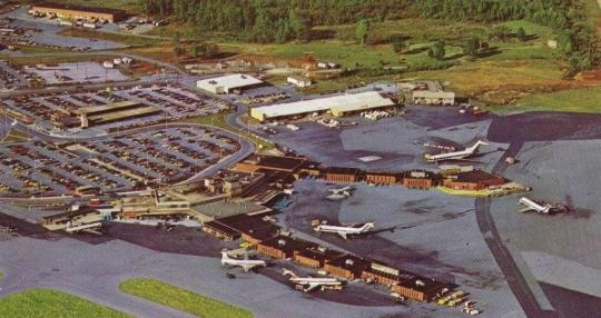 Charlotte Municipal Airport 1971