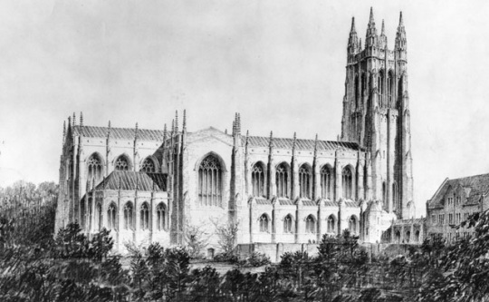 Duke University -architectural rendering
