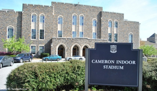 Duke University -Cameron Indoor Stadium