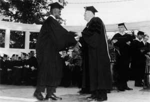 Harvey Gantt graduation Clemson University