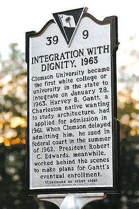 Harvey Gantt at Clemson University