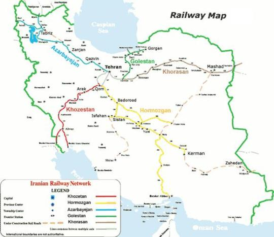 Iran Russia Mulling Cooperation In Electric Train Project