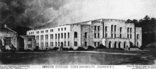 Julian Abele-Architect of Duke University Indoor Stadium