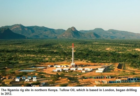 Kenya Oil -Tullow Oil
