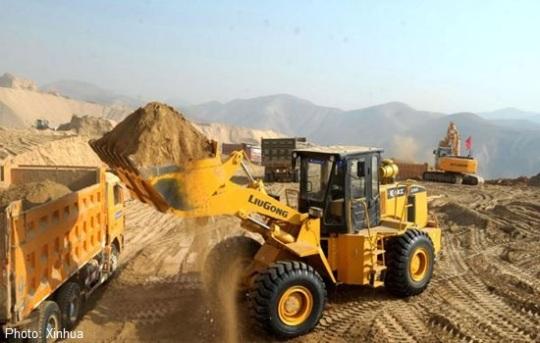 Lanzhou mountain removal