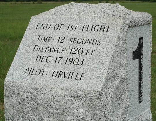 Wright Brothers Memorial in Kill Devil Hills NC