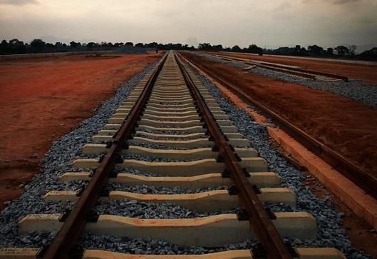 Abuja Light Rail Tracks