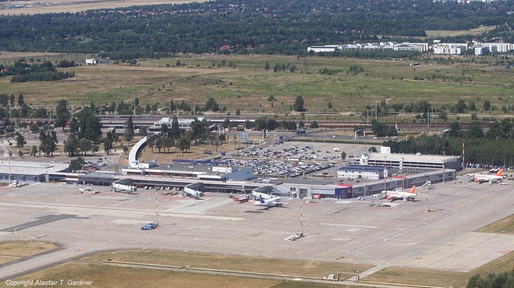 Künftiges Geländer der ILA am Flughafen BER