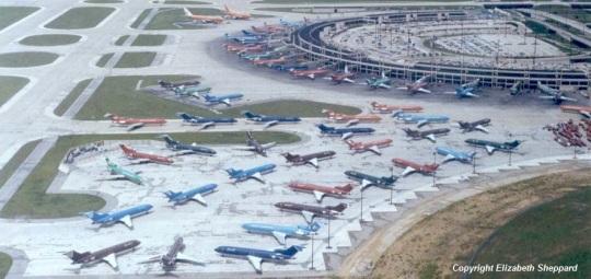 Dallas Fort Worth Braniff May 1982 shutdown