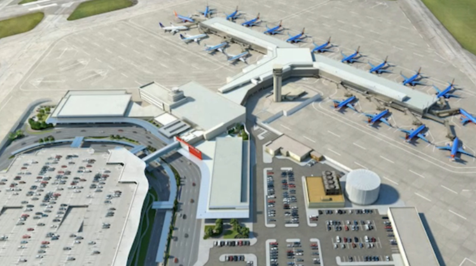 Dallas-Fort Worth International Airport\'s $2.3 billion ...