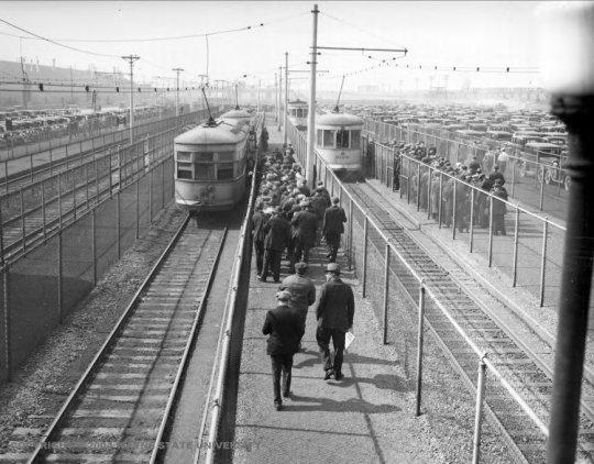 Detroit rail system