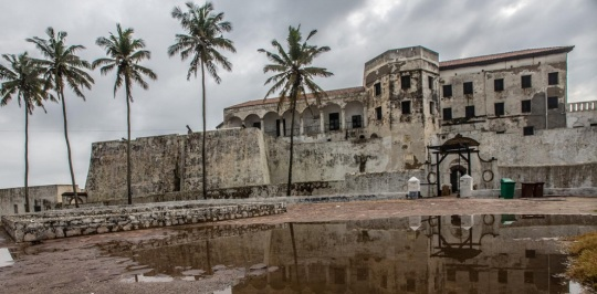 Elmina Castle -Slave Fort