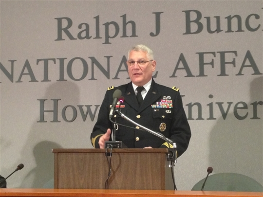General Carter F. Ham at Howard University 2013