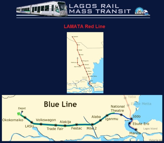 Lagos Light Rail Lines