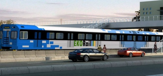 Lagos Light Rail car design
