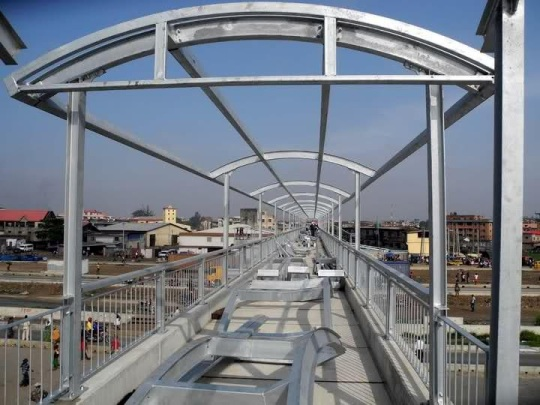 Lagos Light Rail construction