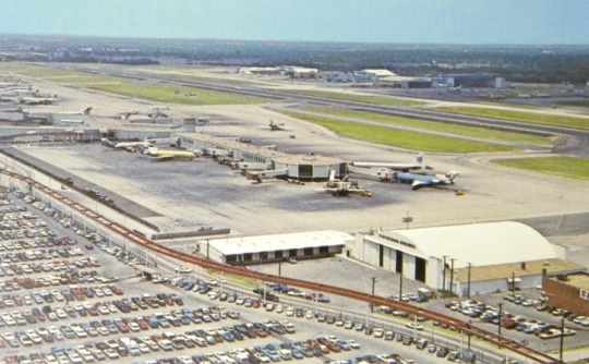 Love Field Braniff International Terminal