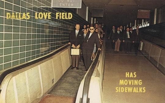 Love Field moving sidewalks