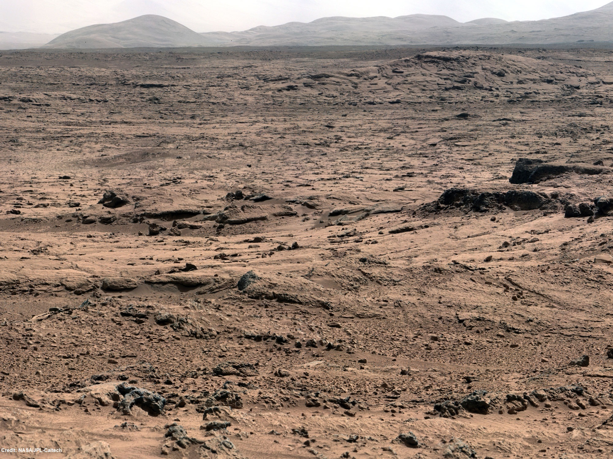 NASA's Mars Curiosity rover explores 'Yellowknife Bay ...
