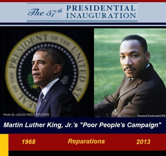 President Obama-2nd term Martin Luther King Jr-Unfinished Dream