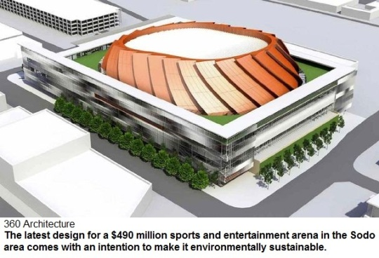 Seattle Arena design