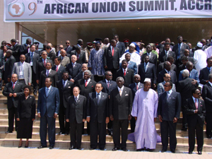 African Union 9th Ordinary Session of the Assembly -Accra, Ghana July 2007