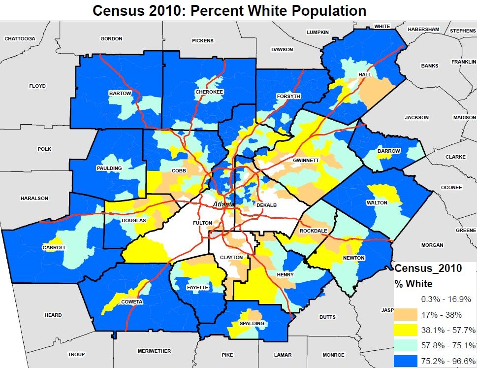 cities atlanta population