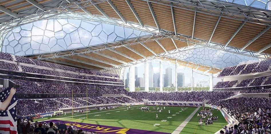 Nfl General Contractor Selected To Build New Minnesota