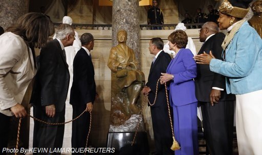 Rosa Parks Statue in the U.S. Capitol