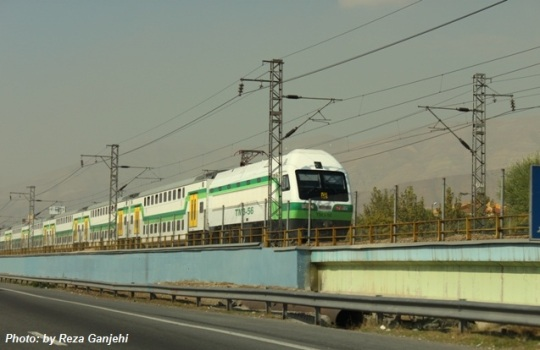 Tehran commuter train