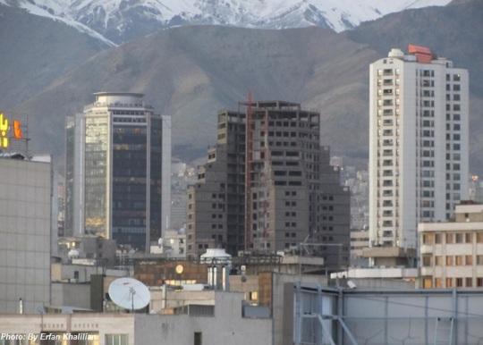 Tehran construction