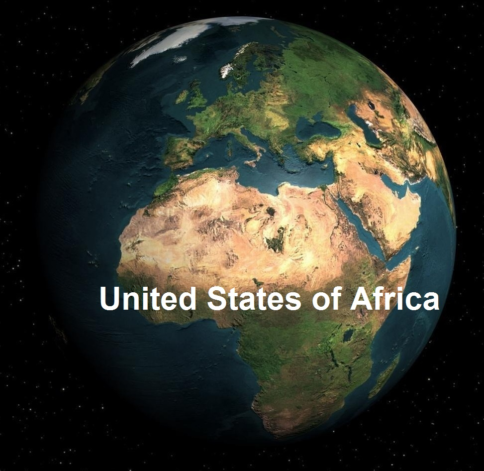 The United States of Africa - cover