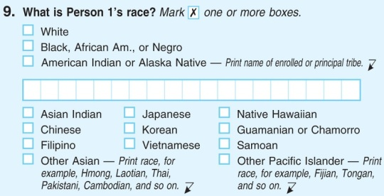 US Census -Race