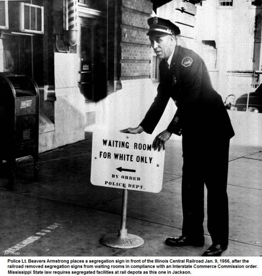 Waiting Room- Jim Crow Laws