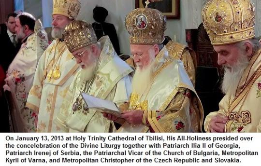 Bartholomew I- Archbishop of Constantinople