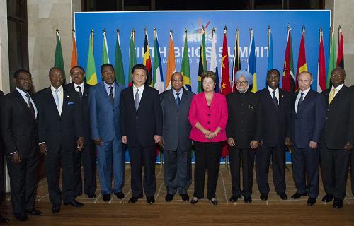 BRICS Leaders-Africa Dialogue Forum 2013