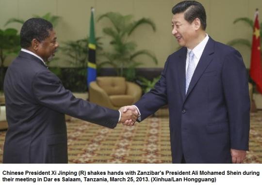 China Zanzibar