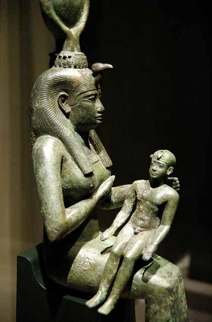 Isis and the baby Horus
