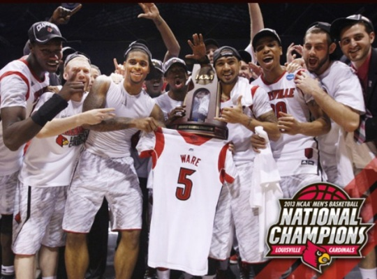 Louisville NCAA Division I Champions
