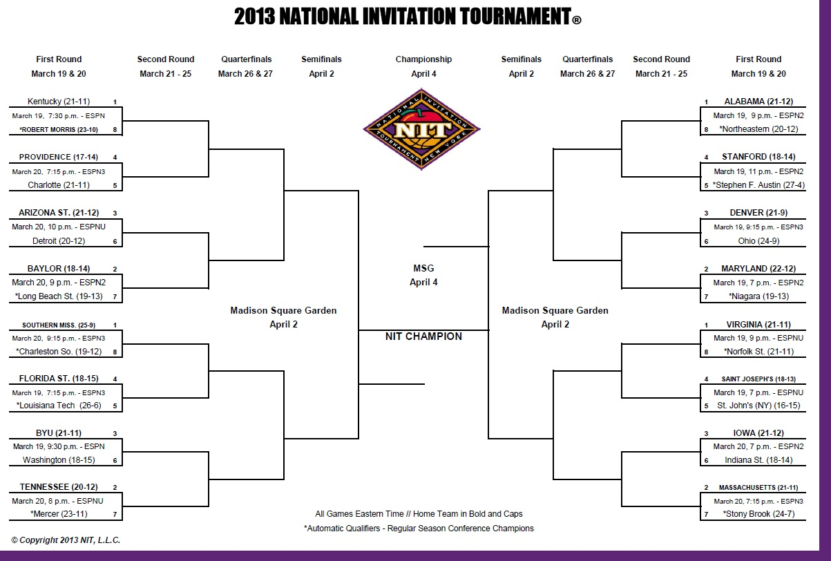 2013 NCAA Division I Mens Basketball Tournament